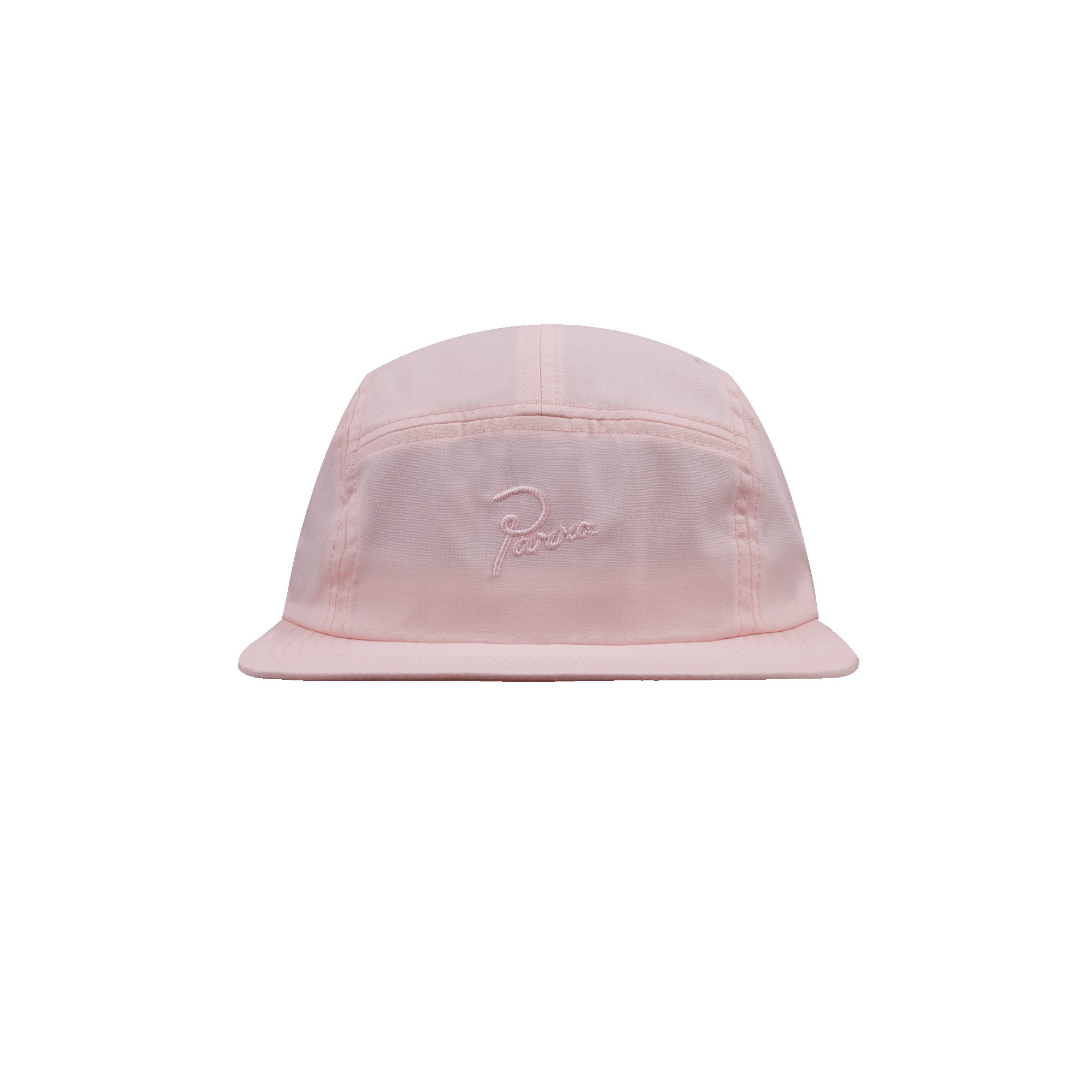 e21f400abda Parra 5 Panel Volley Hat Signature Logo pink - Caps