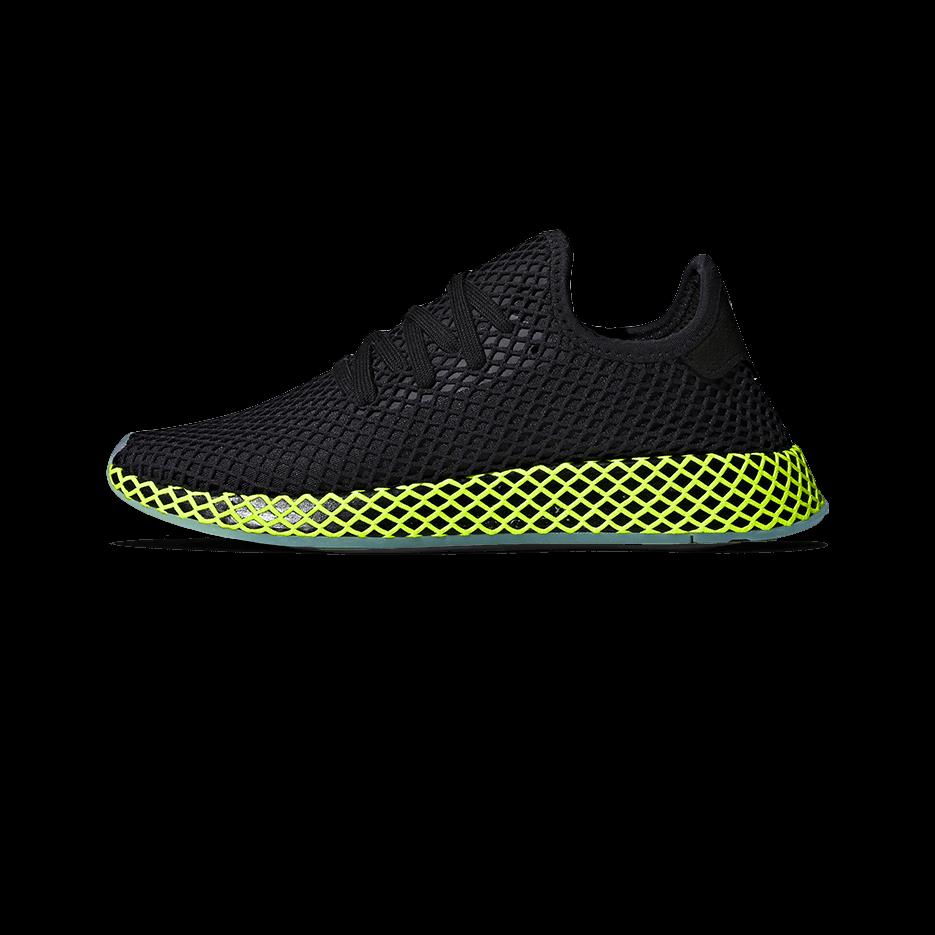 adidas Deerupt Runner core black ash blue Men |