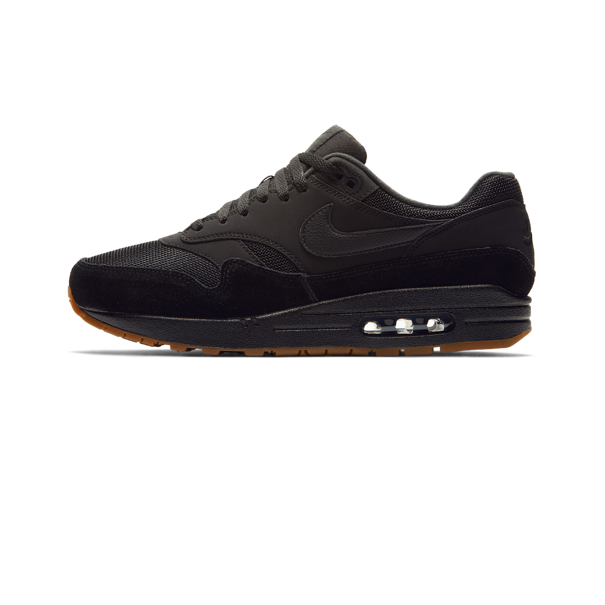 Med 1 Black Nike Max Gum Air Uomo Brown 2EHIWD9