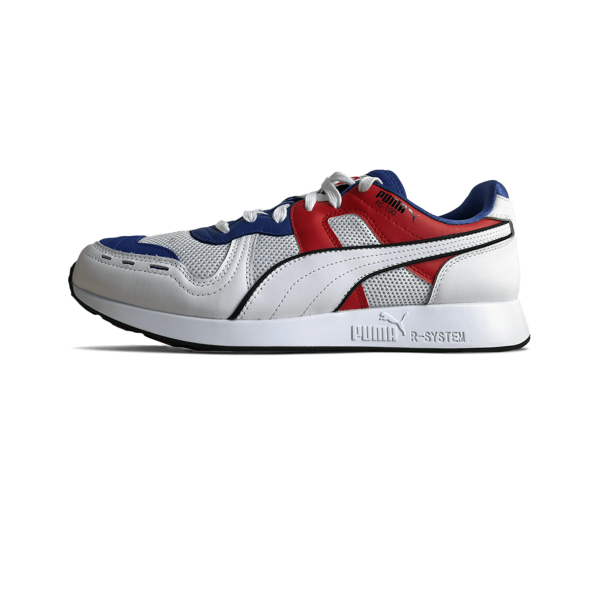 5d322e173de Puma RS-100 Sound dazzling blue / high risk red / white - Men |  Holypopstore.com