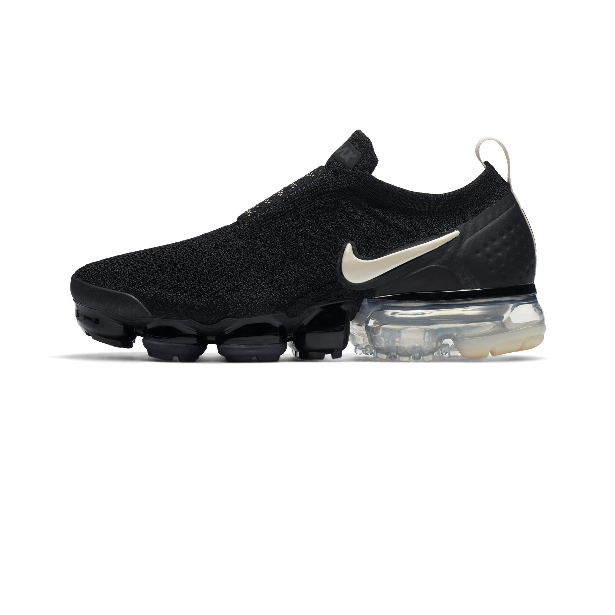 Nike Air Vapormax Flyknit Moc 2 black light cream thunder grey Donna |