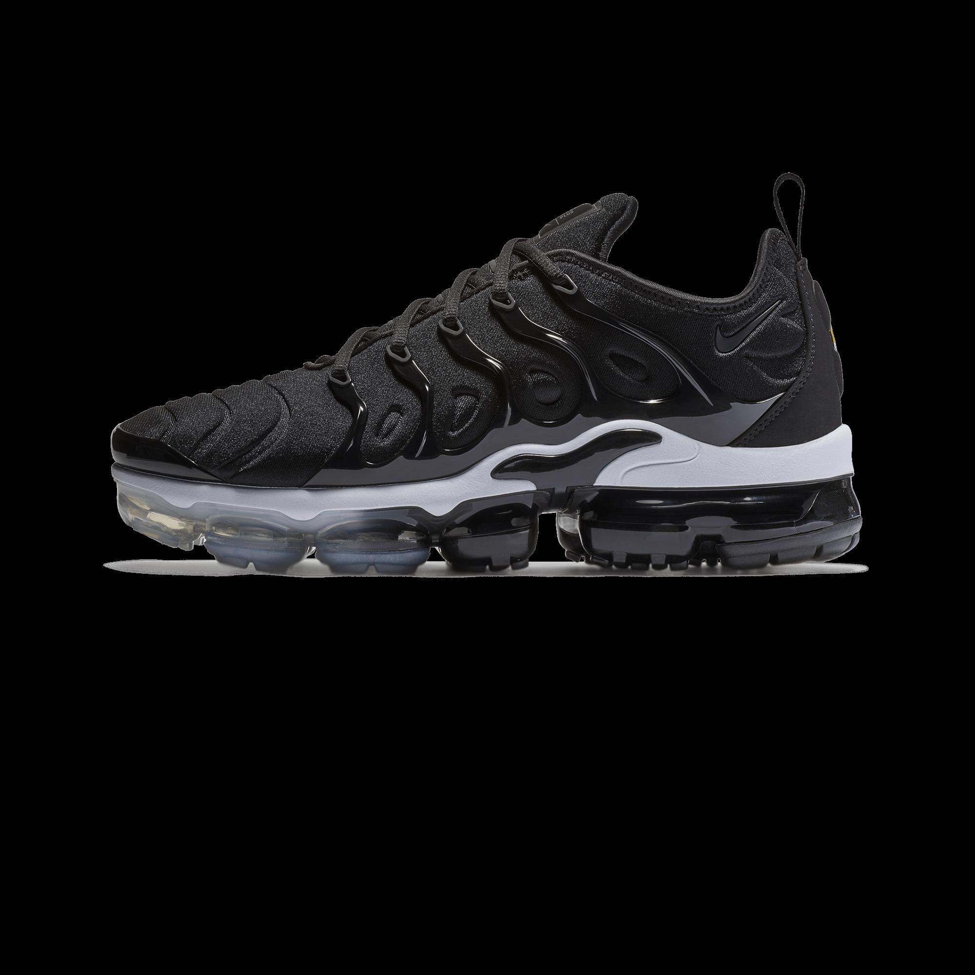 Nike Air Vapormax Plus Mens Running Shoes Black White