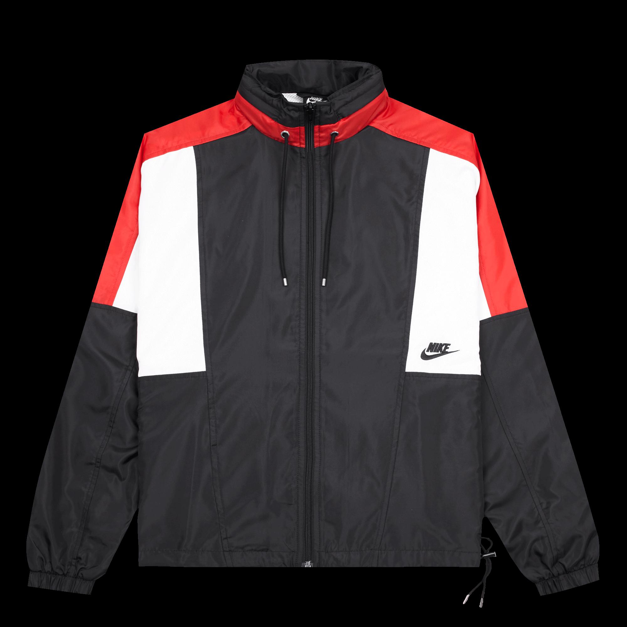 university Re summit Nike Issue red white Jacket black NSW Woven 7YTSxwU5q