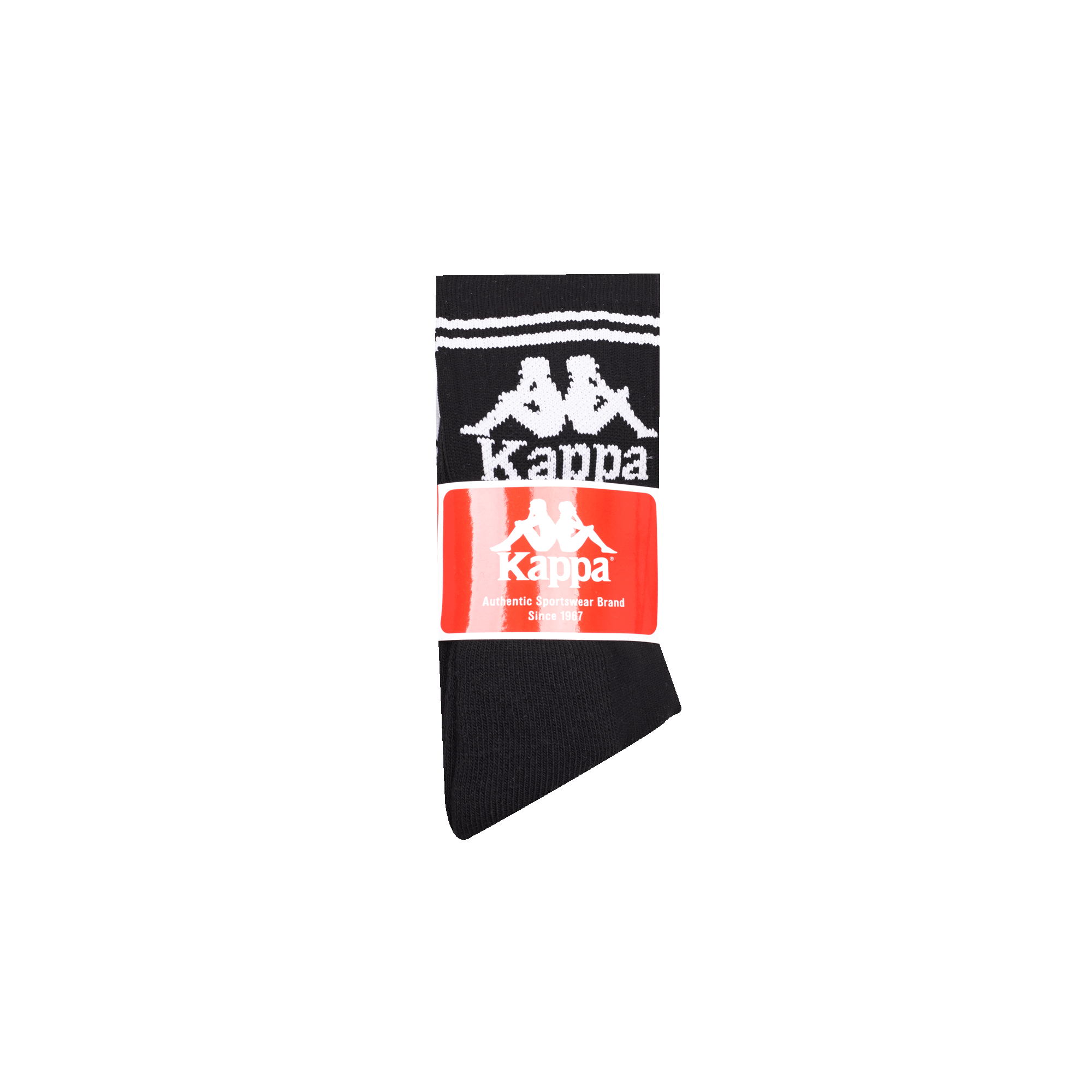 best service c4c46 d6392 Kappa Authentic Soccer 3Pk black / white - Socks | Holypopstore.com