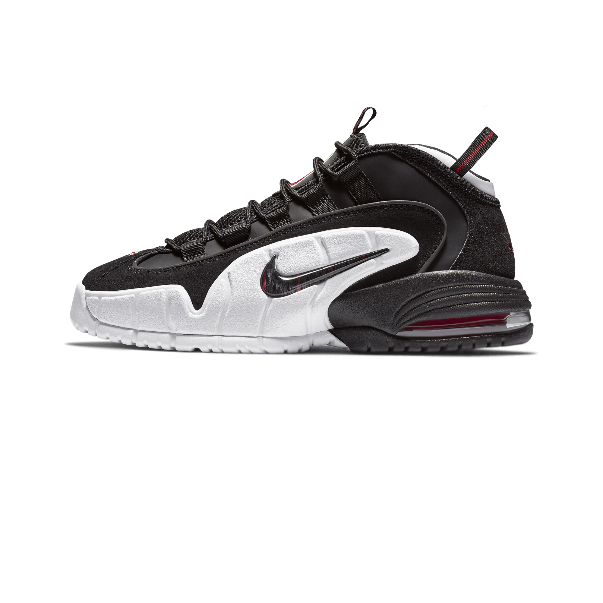 Nike Air Max Penny black white university red Men |