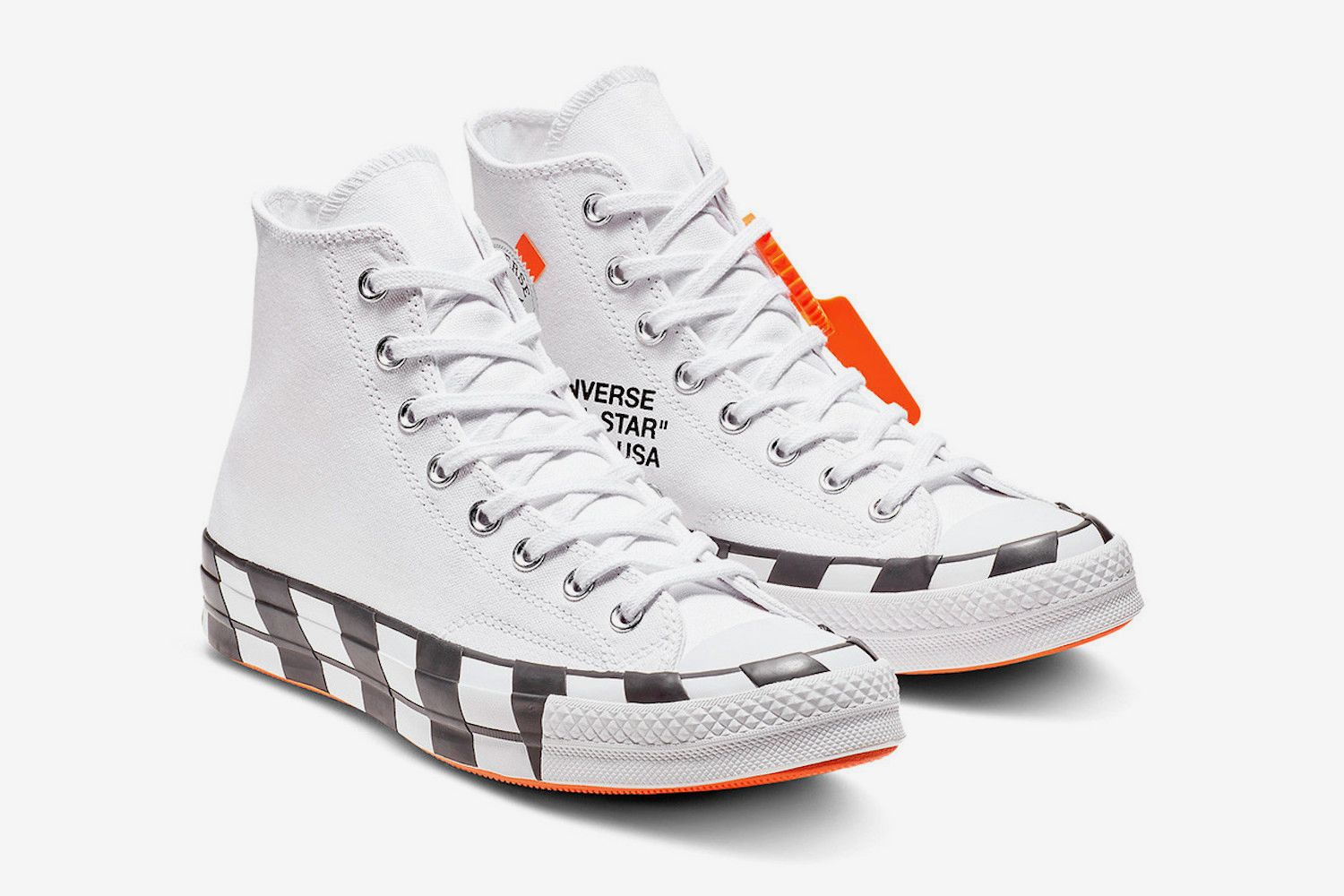 converse off white uomo