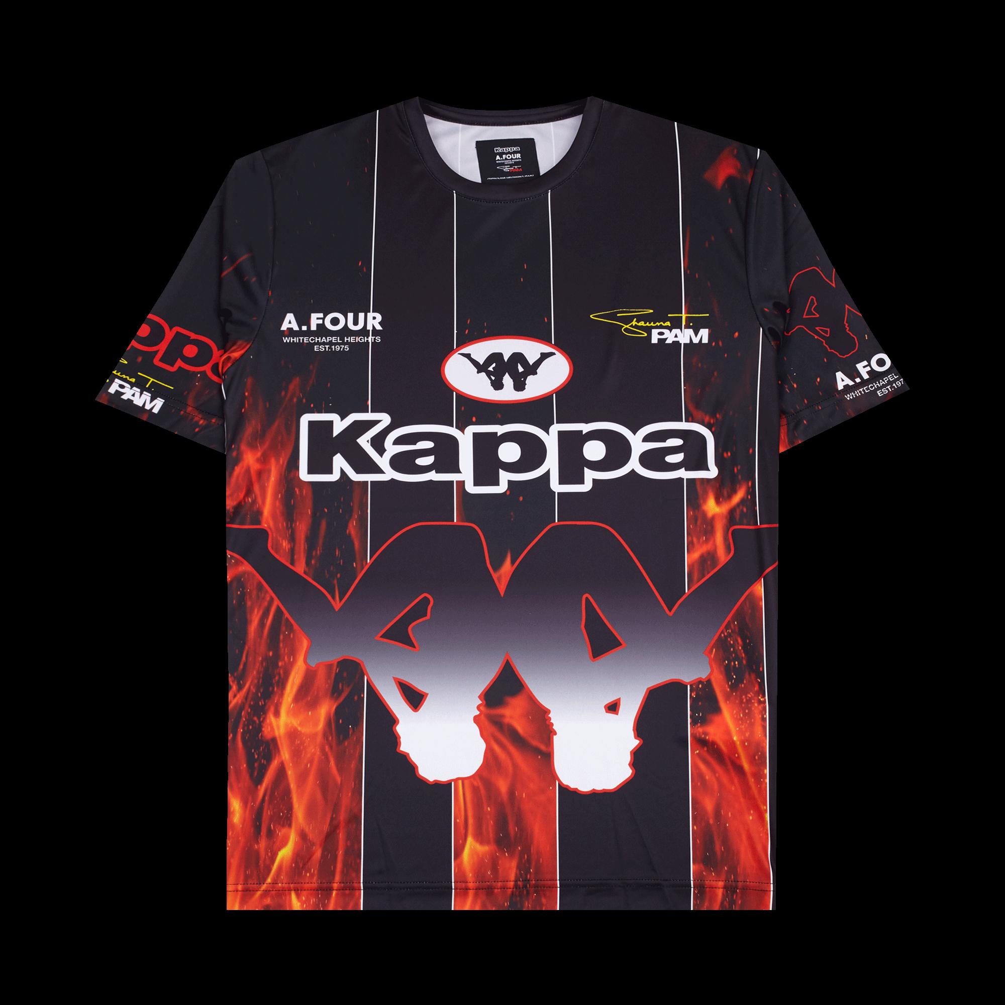 Sublimation Football T-shirt x Kappa x AFL x Shauna T flame
