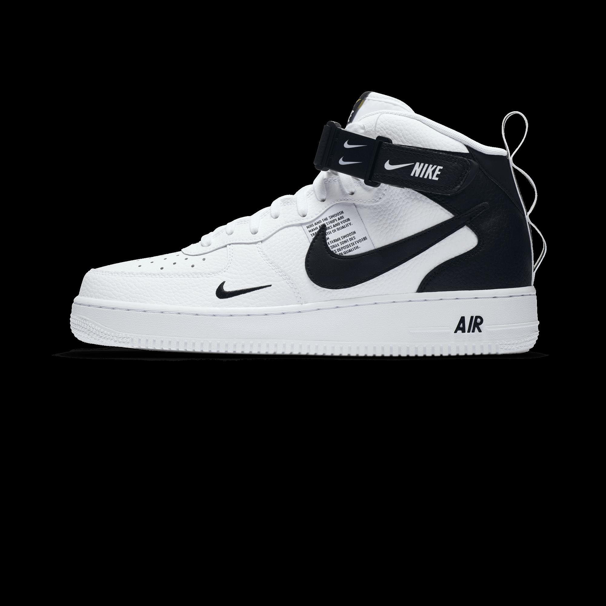 Nike Air Force 1 Mid '07 White Uomo