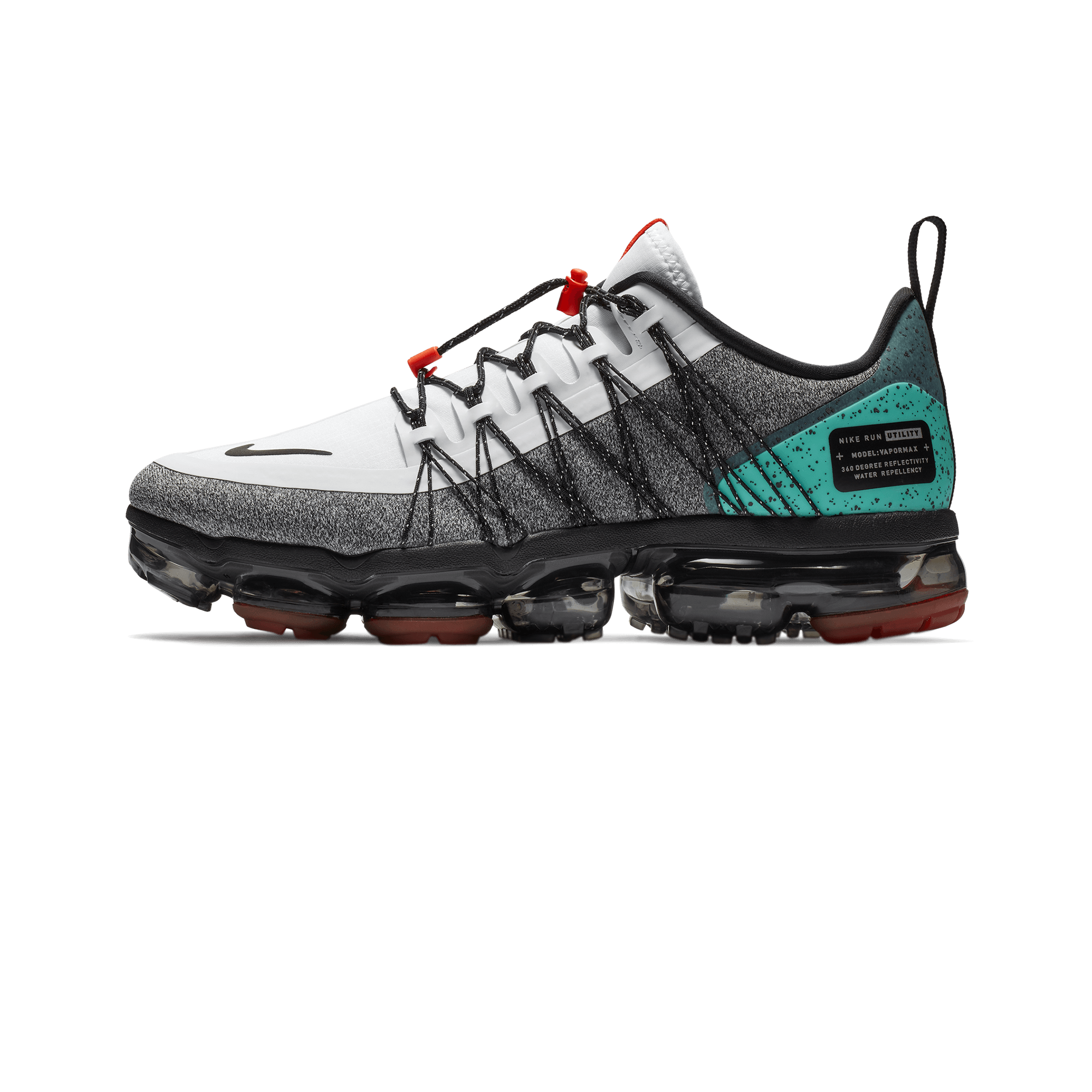 ea707bb8f Nike Air Vapormax Run Utility NRG white / black / team orange - Uomo ...
