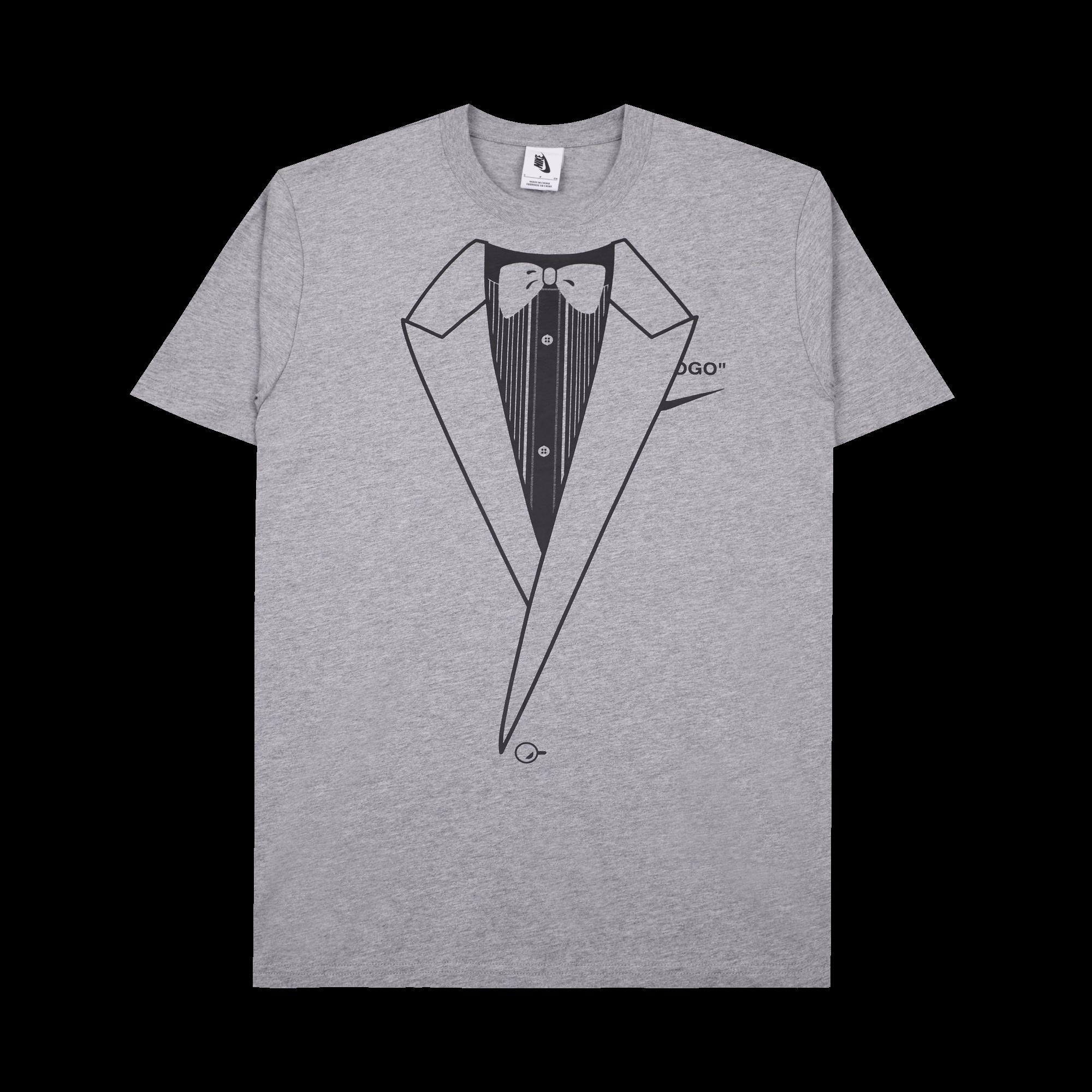 offer discounts wholesale sales new high quality NikeLab M NRG Tee x Off White dark grey / black - T-shirt | Holypopstore.com