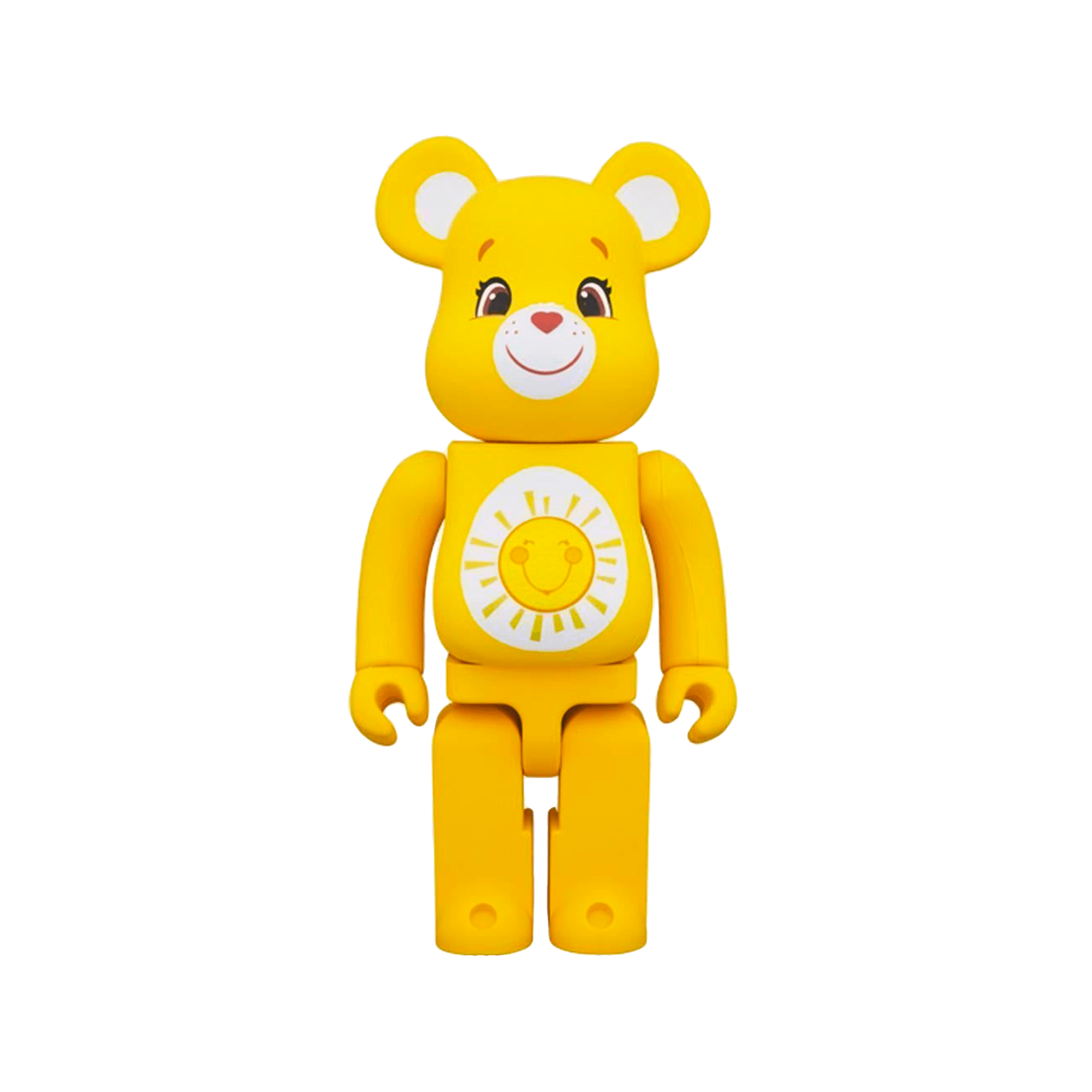 Be@rbrick 400% Care Bears Funshine Bear yellow