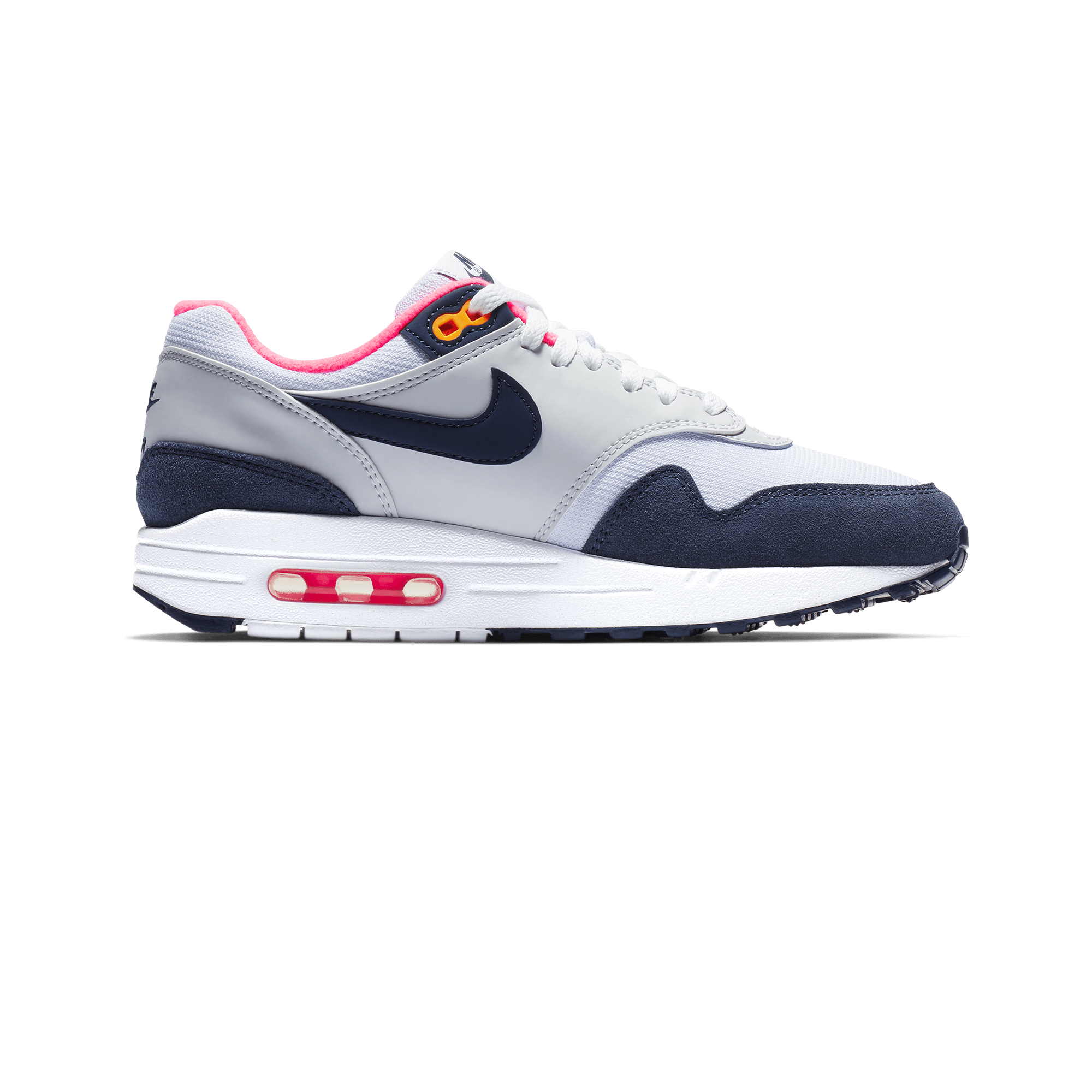 where can i buy shades of fashion style Nike Air Max 1 white / midnight navy / pure platinum - Woman |  Holypopstore.com