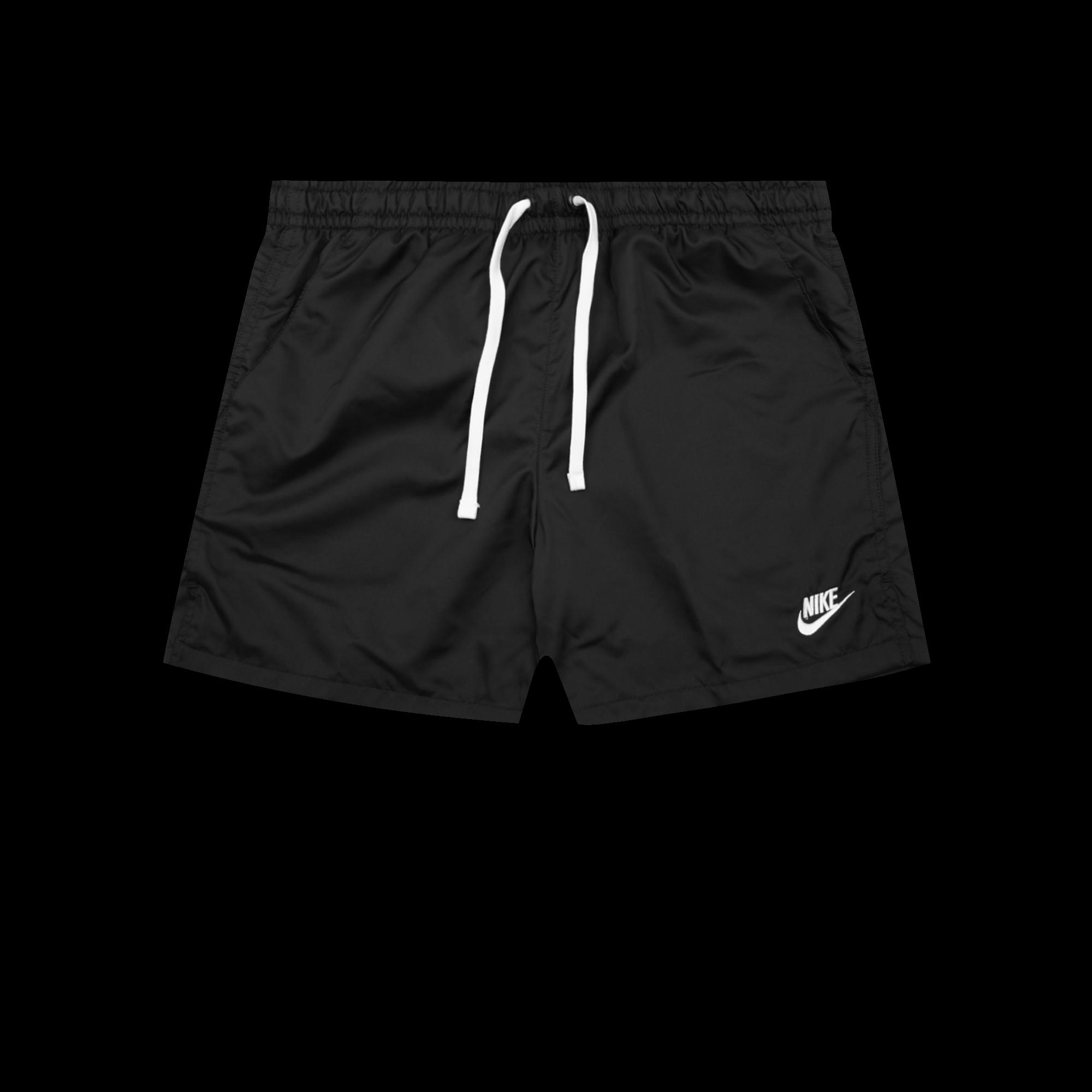Nike NSW Short Flow black white Pantaloni corti |