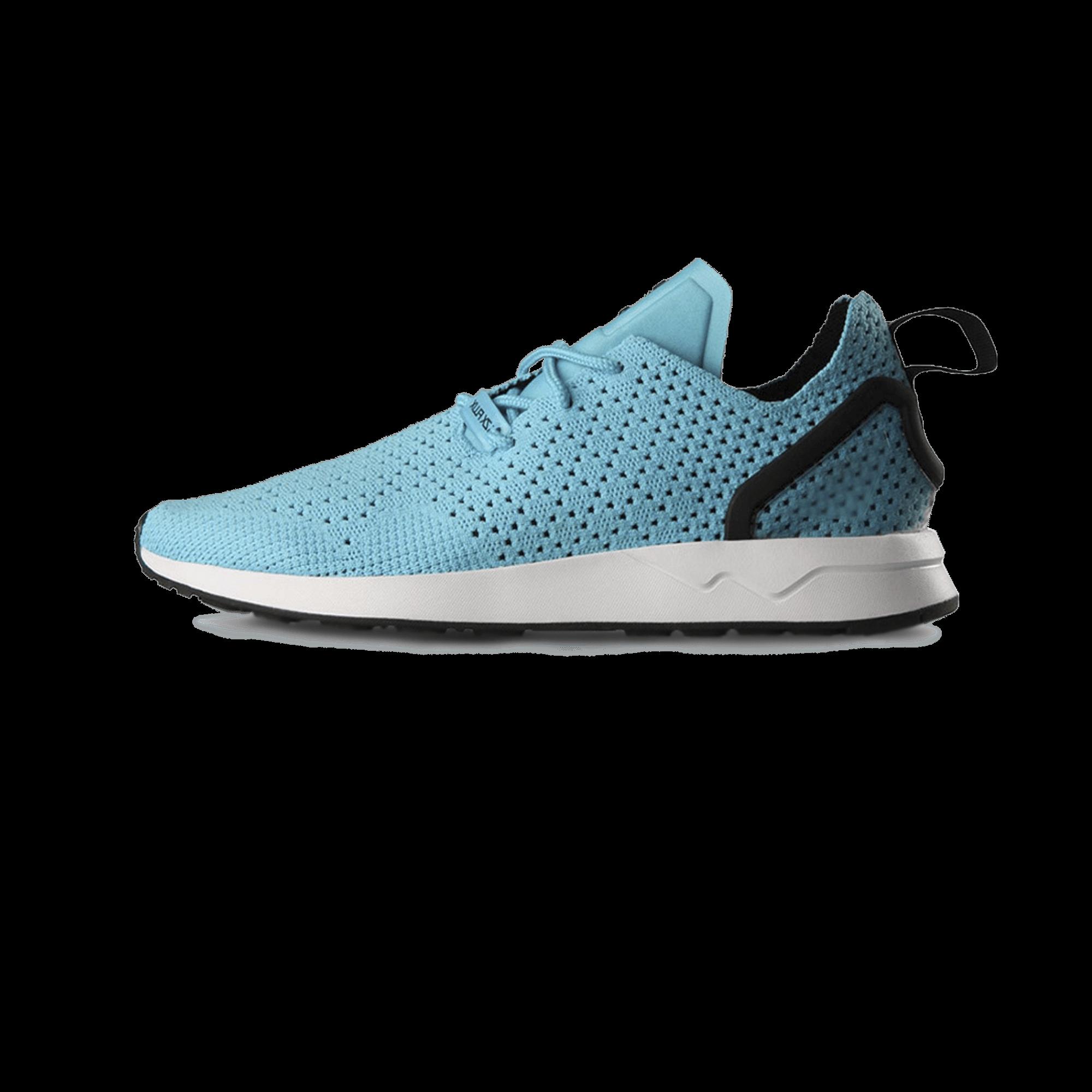 sports shoes f3b34 138a3 adidas ZX Flux ADV Asymmetrical Primeknit blue - Men | Holypopstore.com