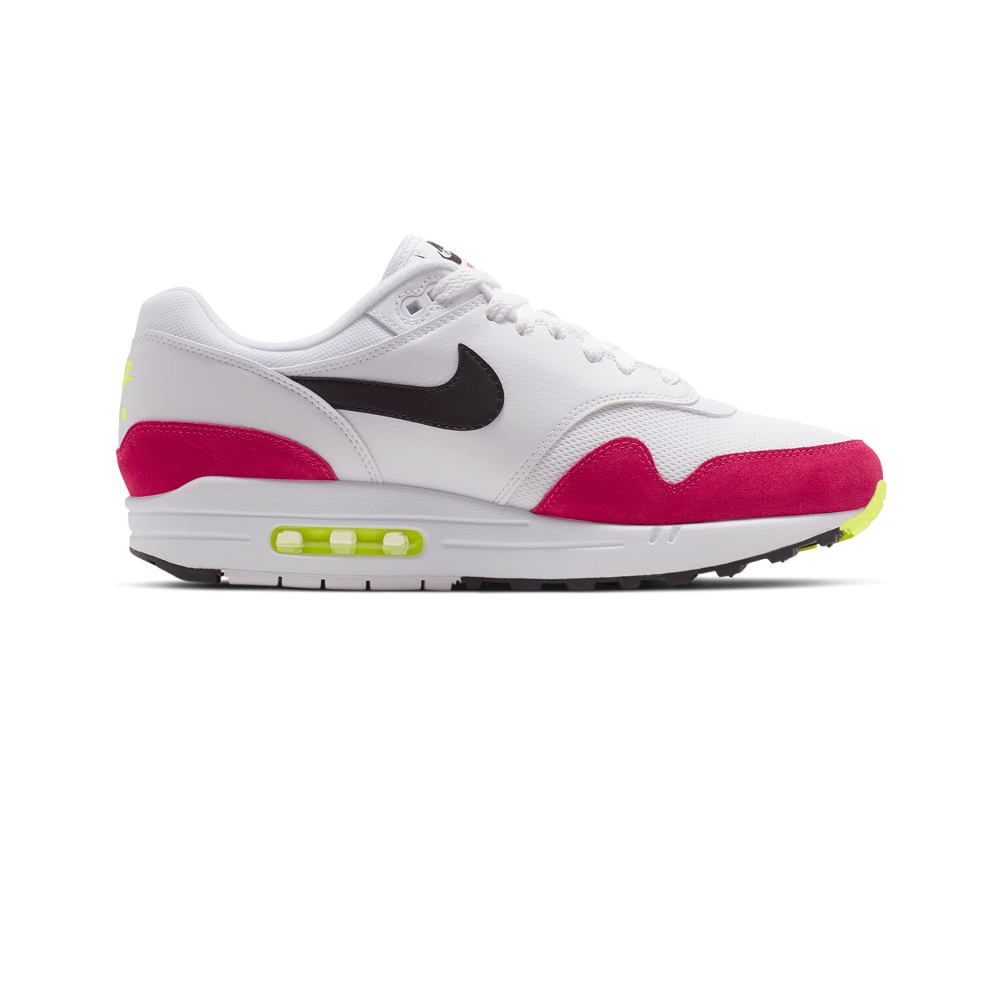 lower price with the best price reduced Nike Air Max 1 white / black / rush pink - Men | Holypopstore.com