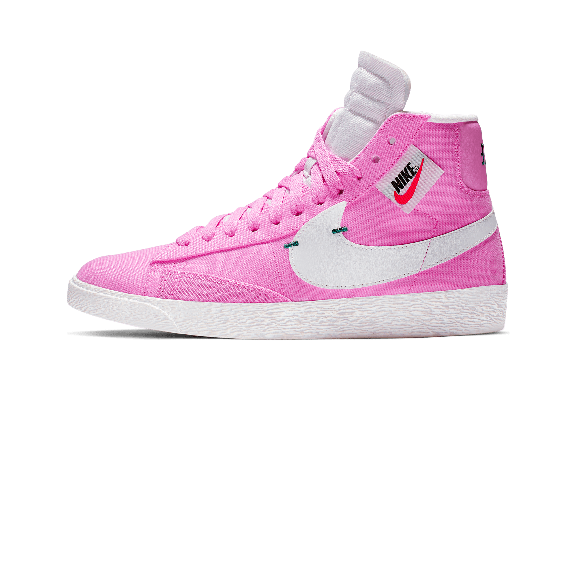 premium selection 7cf5c 2f6a1 Blazer Mid Rebel pink   white
