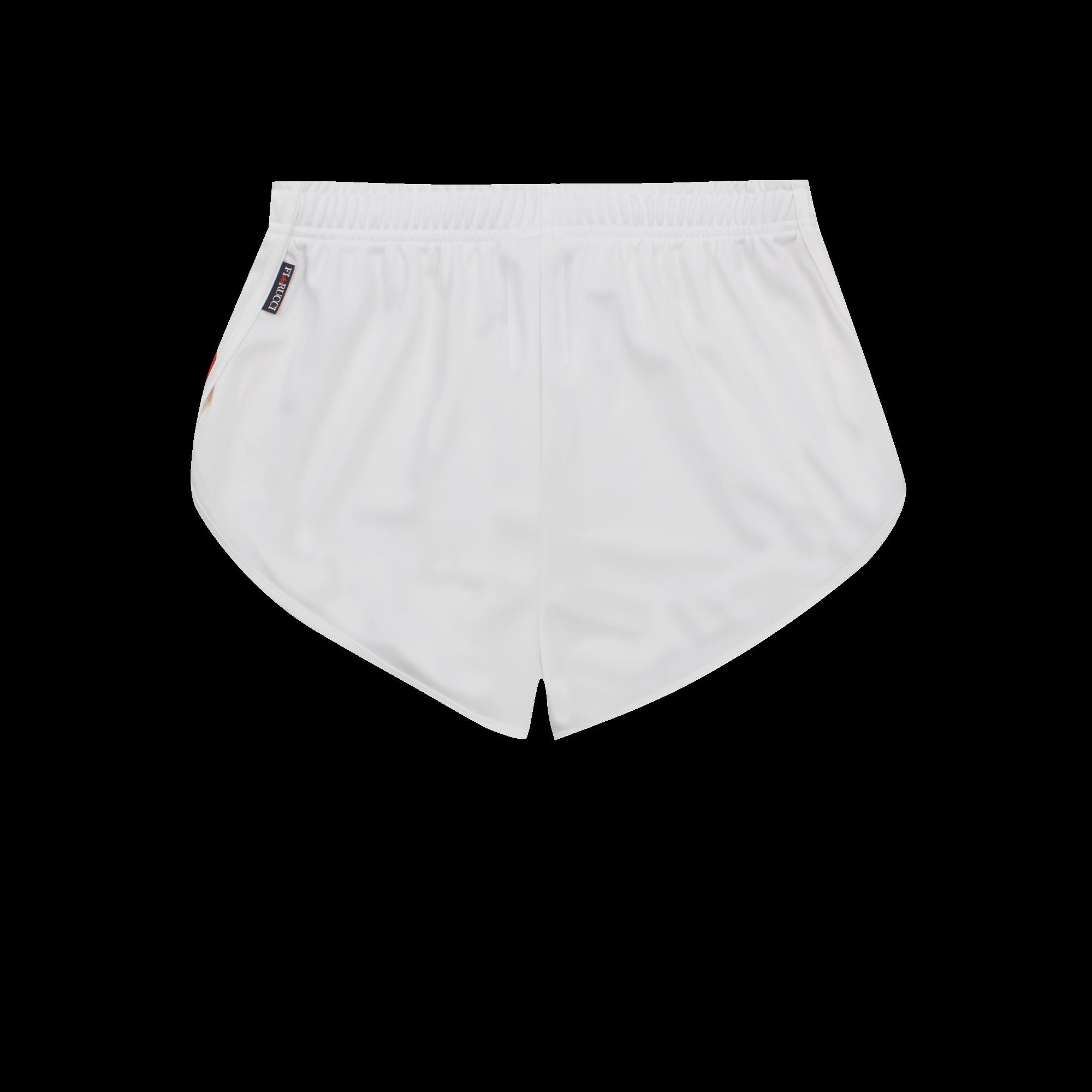 Fiorucci Vintage Short white / red