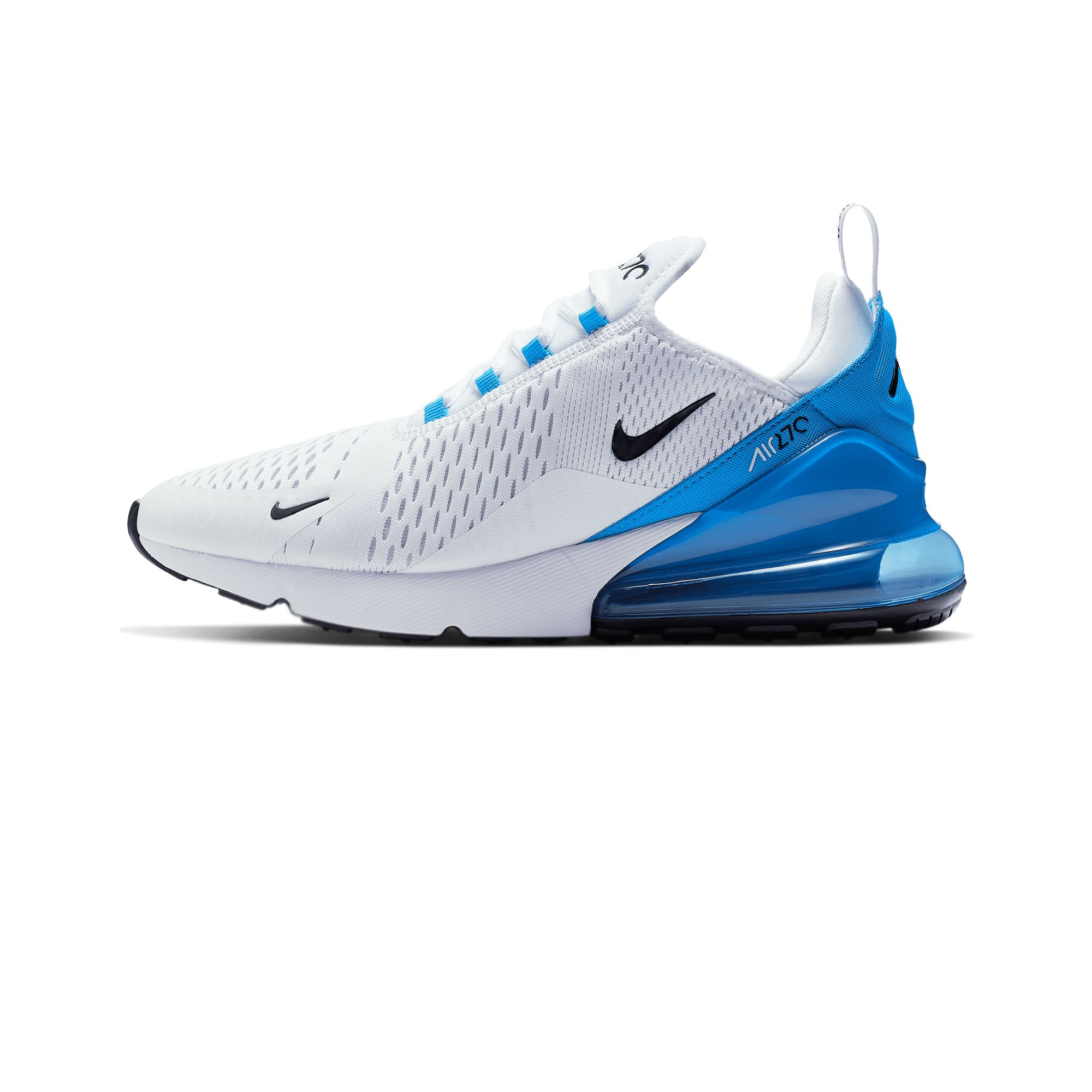pretty nice 3c371 ca222 Nike Air max 270 white / black / blue / platinum - Men | Holypopstore.com