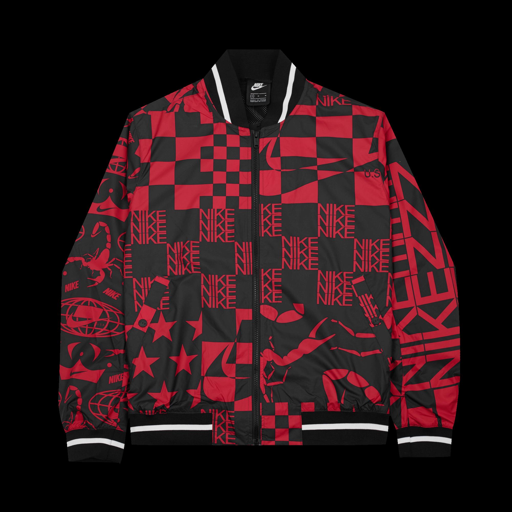 Nike NSW NSP Jacket Scorpio university red Jackets |