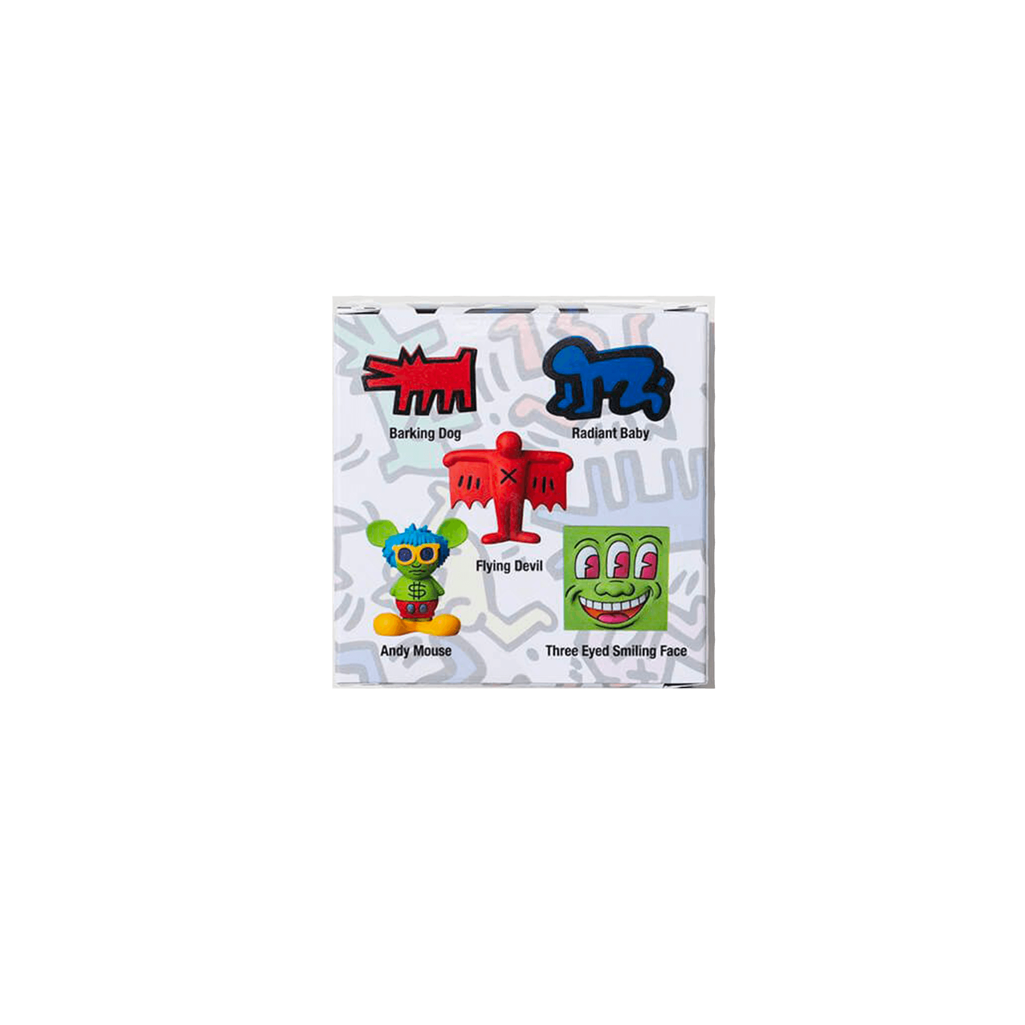 Mini VCD x keith Haring multicolor