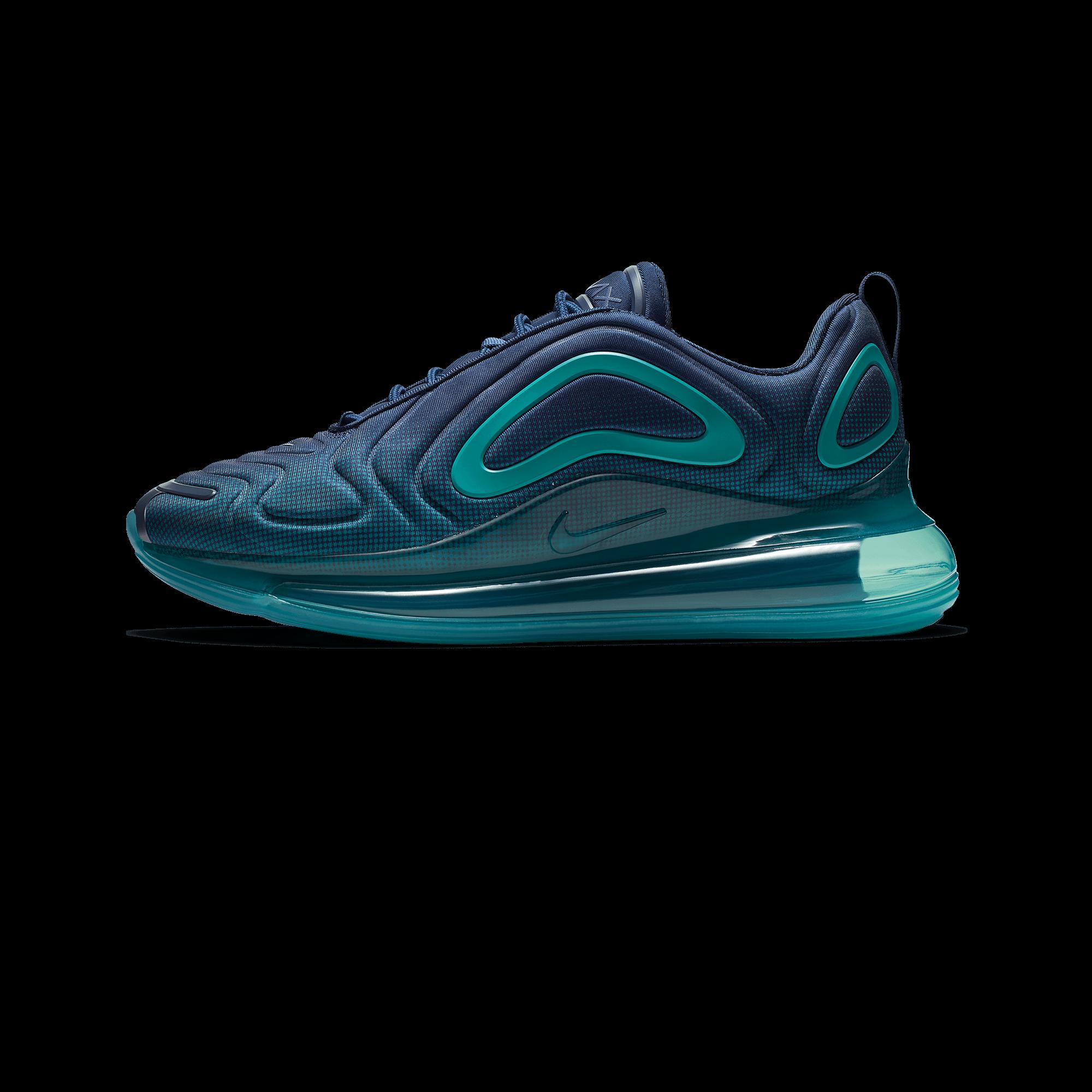 Nike Air Max 720 blue void court purple spirit teal Men |