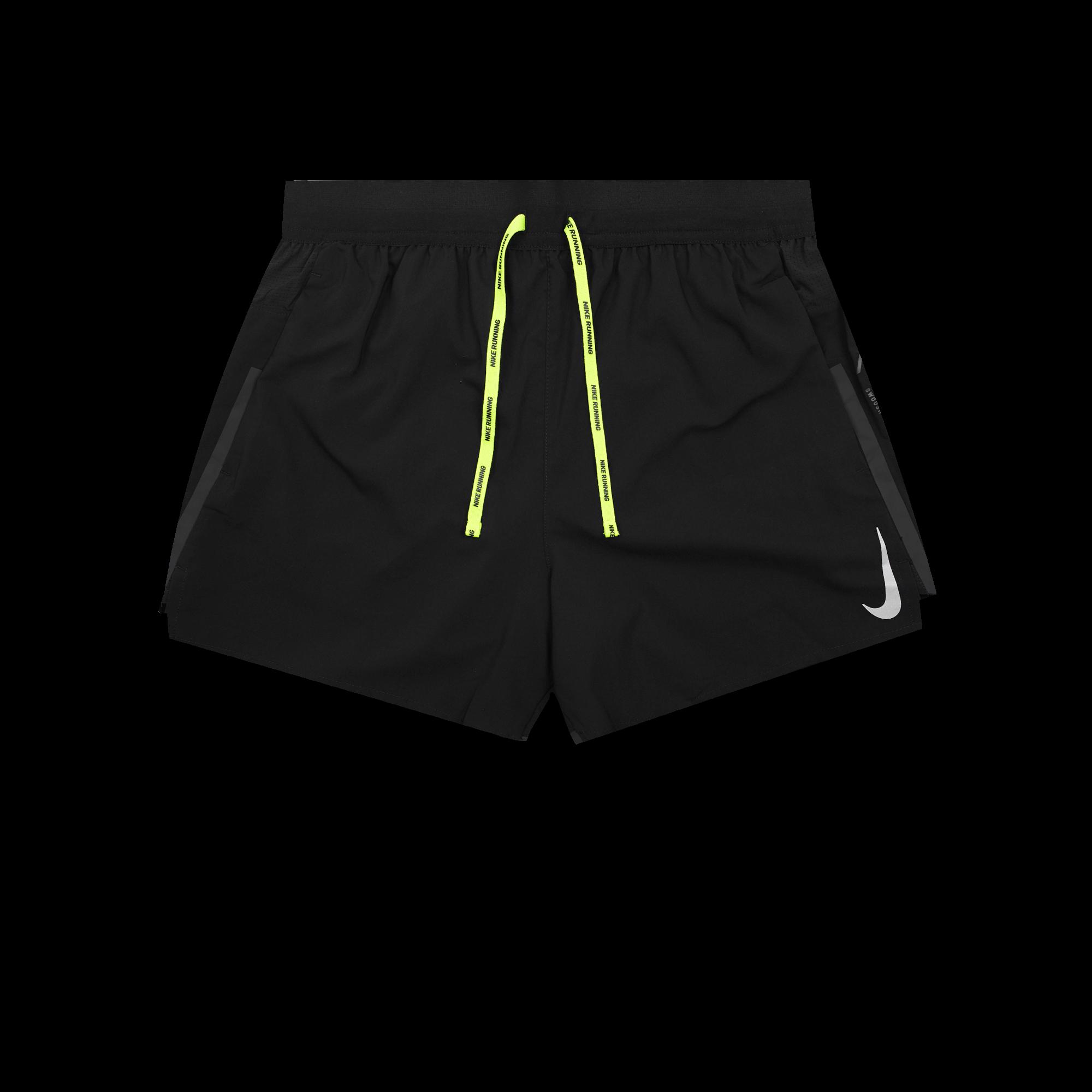 check out 7276c 5aff2 Nike Nike Air Flex Stride Short black / volt / silver - Pantaloni corti |  Holypopstore.com