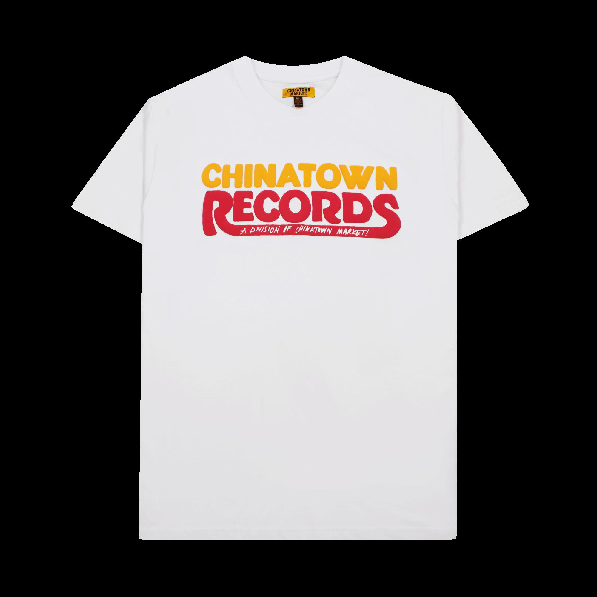 Chinatown Records T-Shirt white