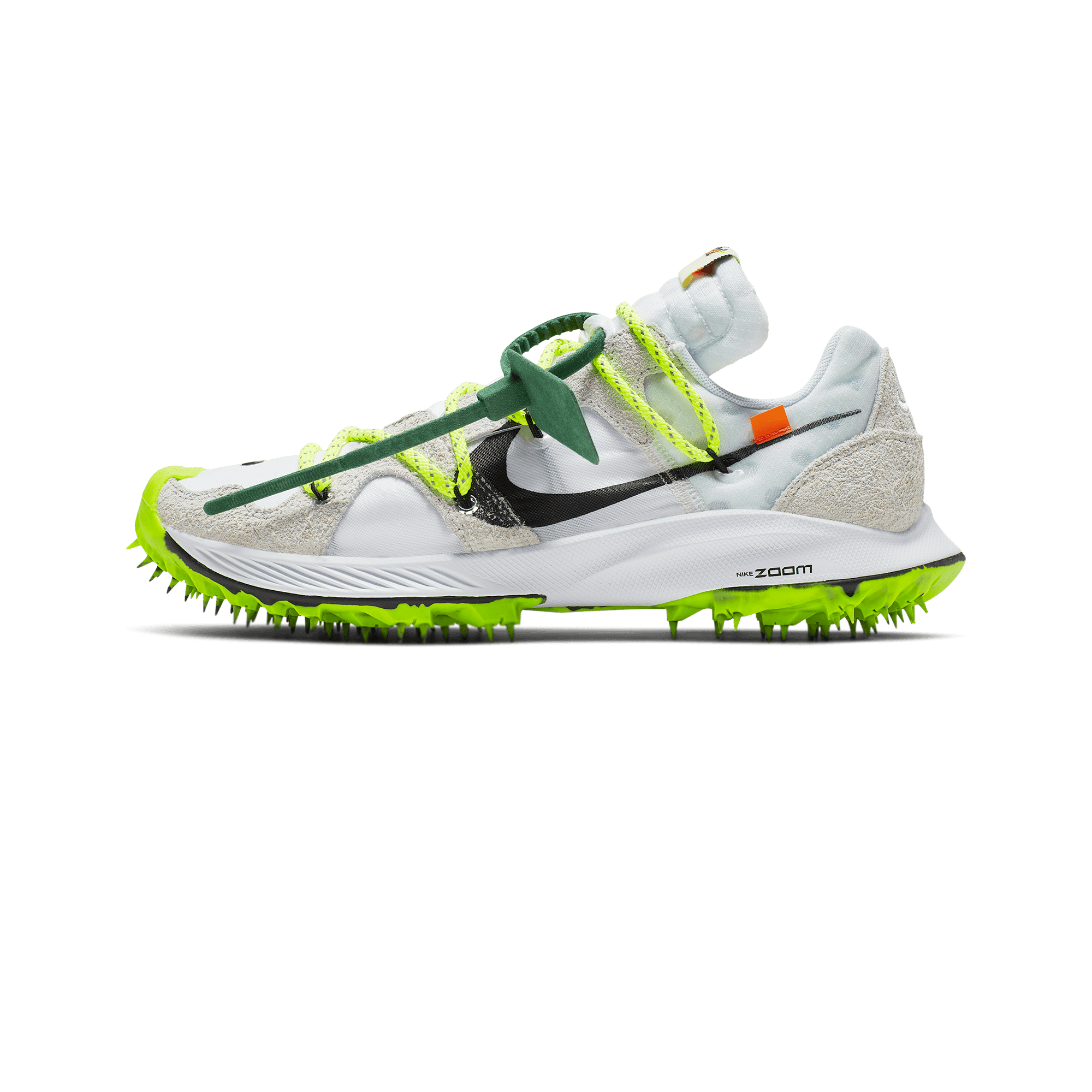 Nike Nike x Off-White W Zoom Terra Kiger 5 white / metallic silver / sail /  safety orange - Donna | Holypopstore.com