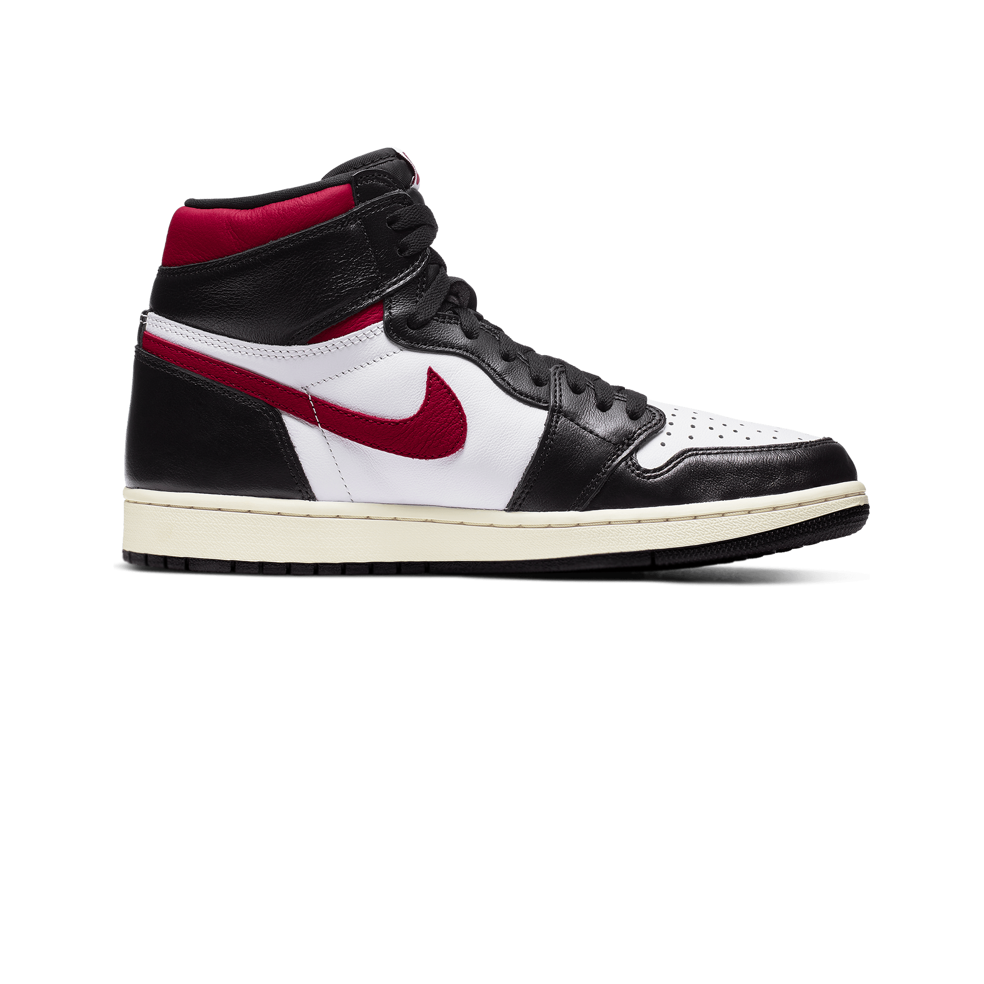 1 Retro High OG Gym Red black / gym red / white