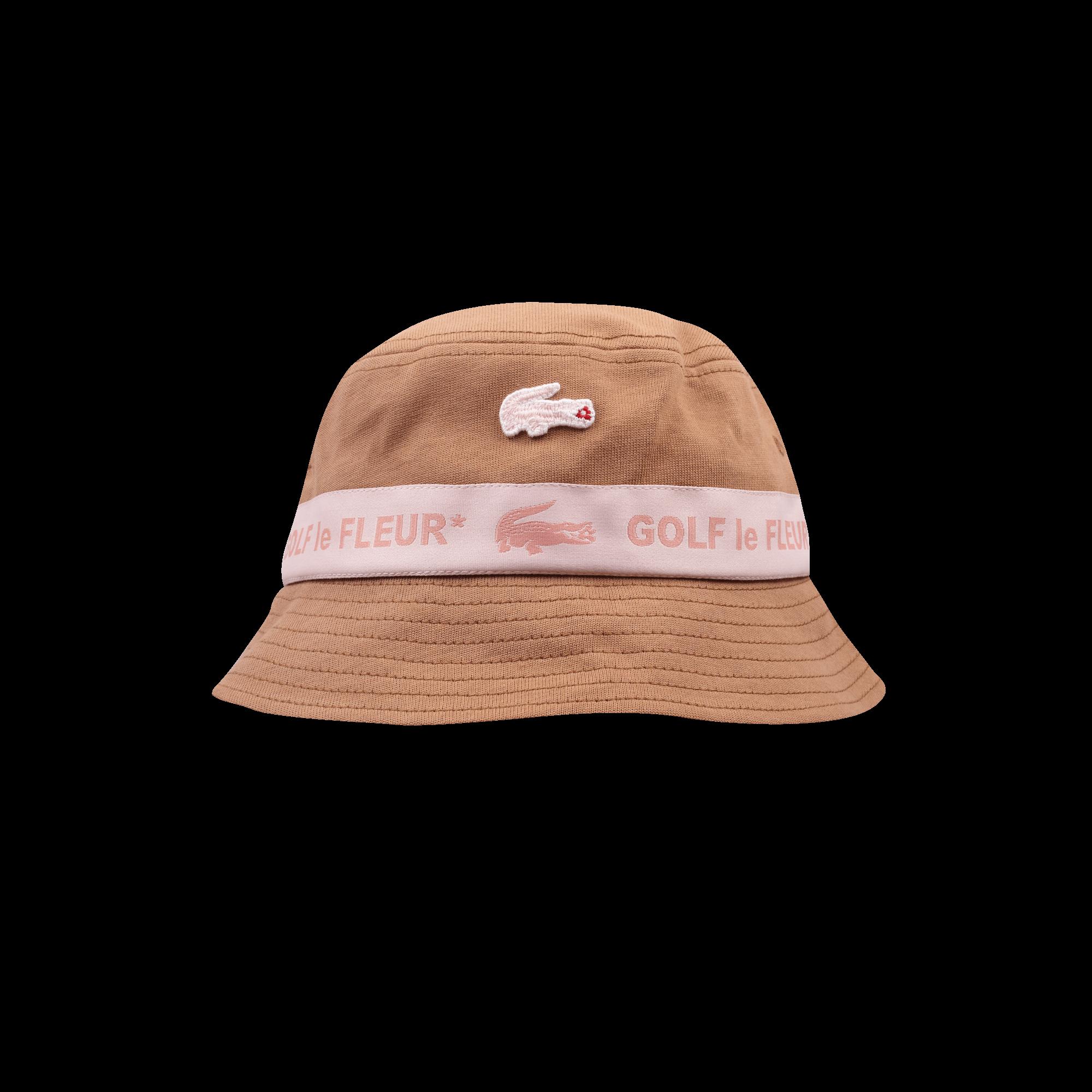 0af9e9bc8 Lacoste Golf Le Fleur x Lacoste Bucket Hat pink / light brown - Caps |  Holypopstore.com