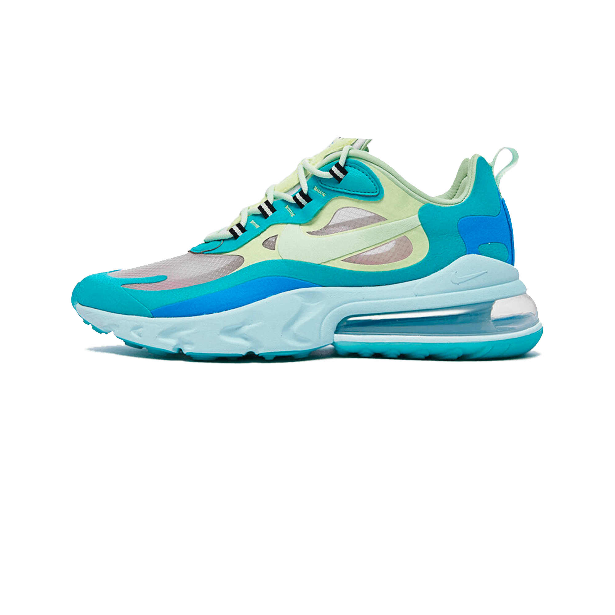 085e0f9501106 Nike Air Max 270 React hyper jade / frosted spruce / barely volt - Men ...