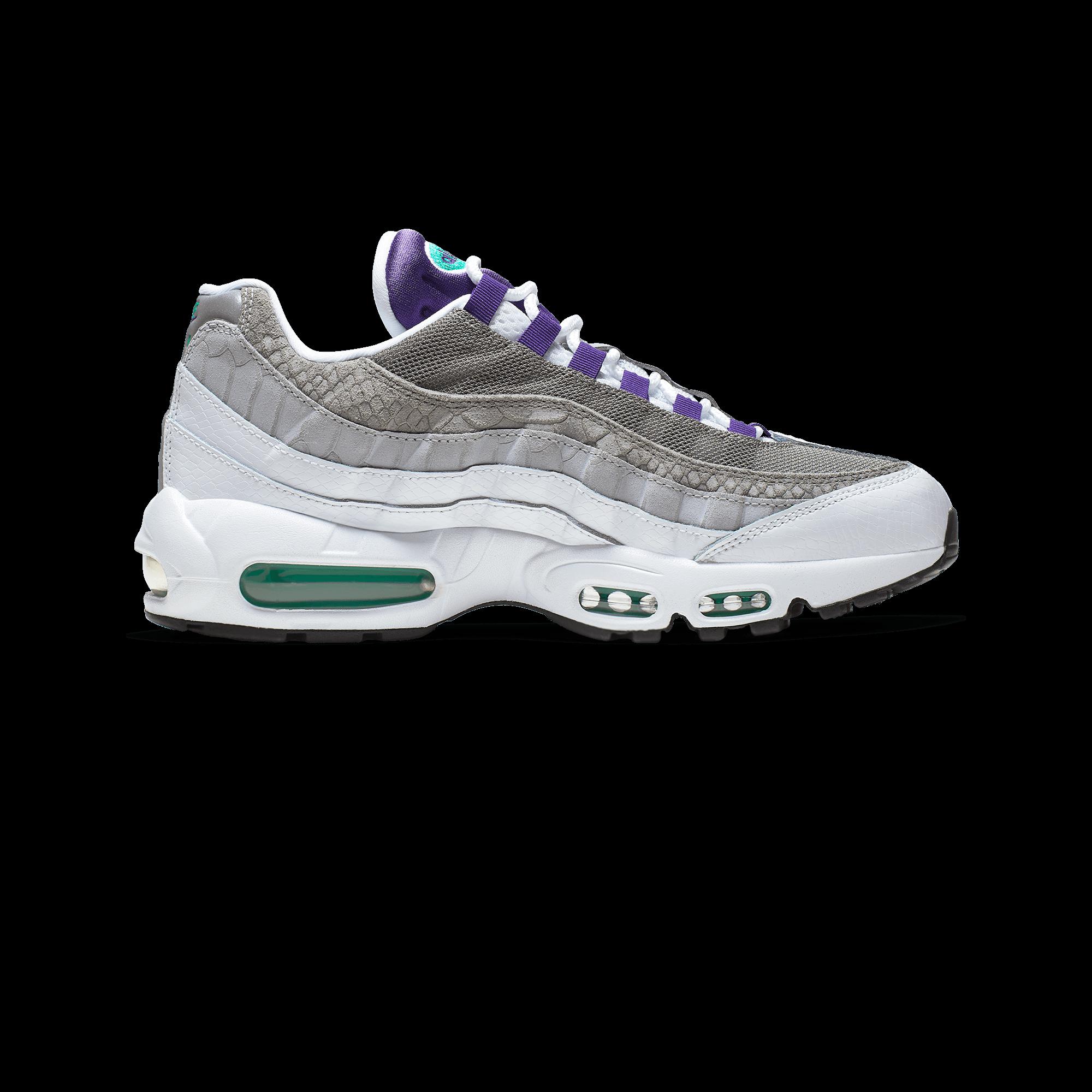 uk availability 9953c 694e4 Nike Air Max 95 LV8 white / court purple / emerald green - Men |  Holypopstore.com