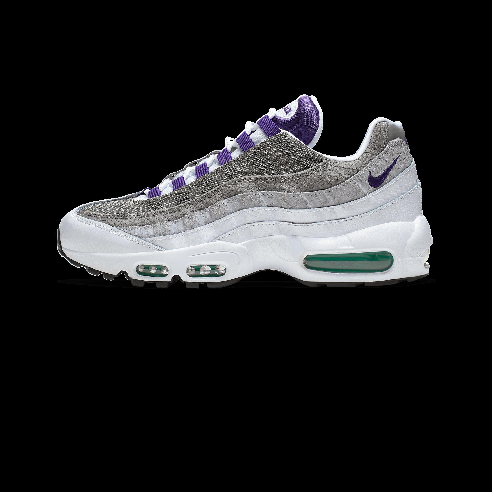 uk availability 4b0be ac412 Nike Air Max 95 LV8 white / court purple / emerald green - Men |  Holypopstore.com
