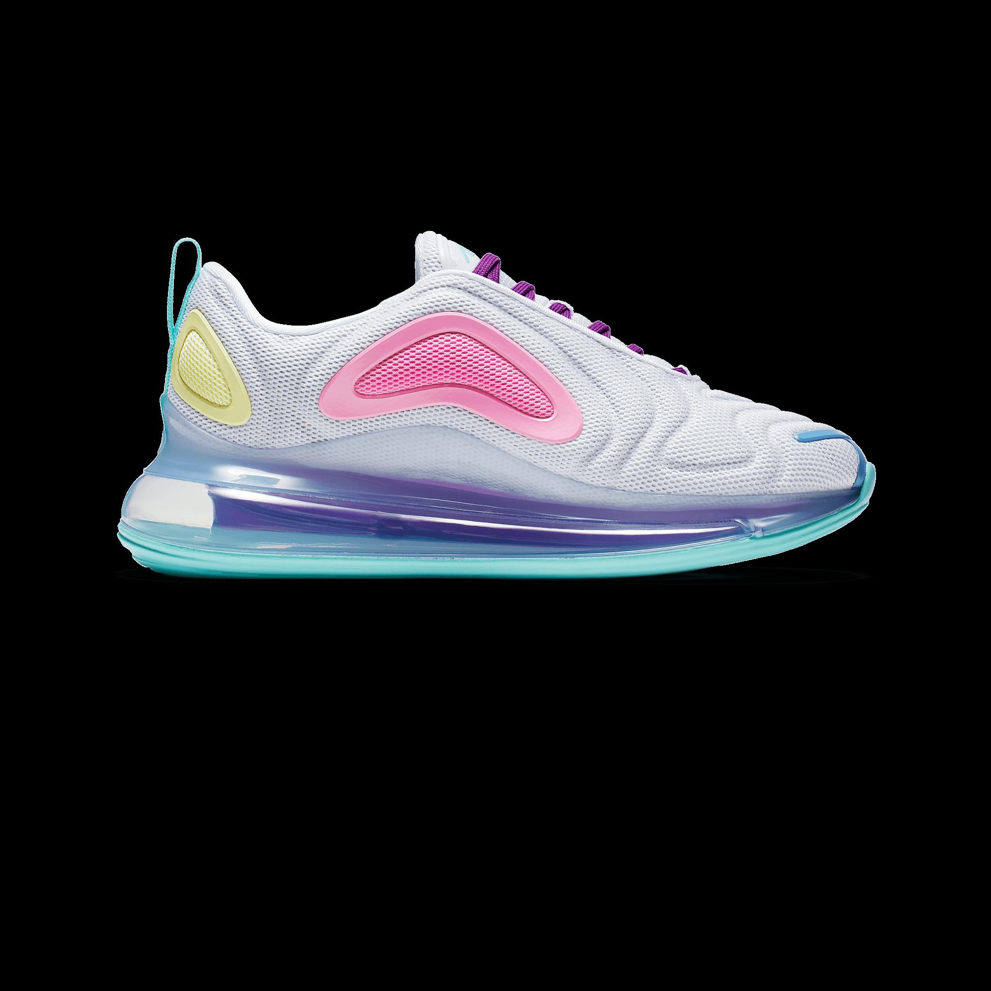 Nike W Air max 720 white light aqua chalk blue psychic pink Woman  