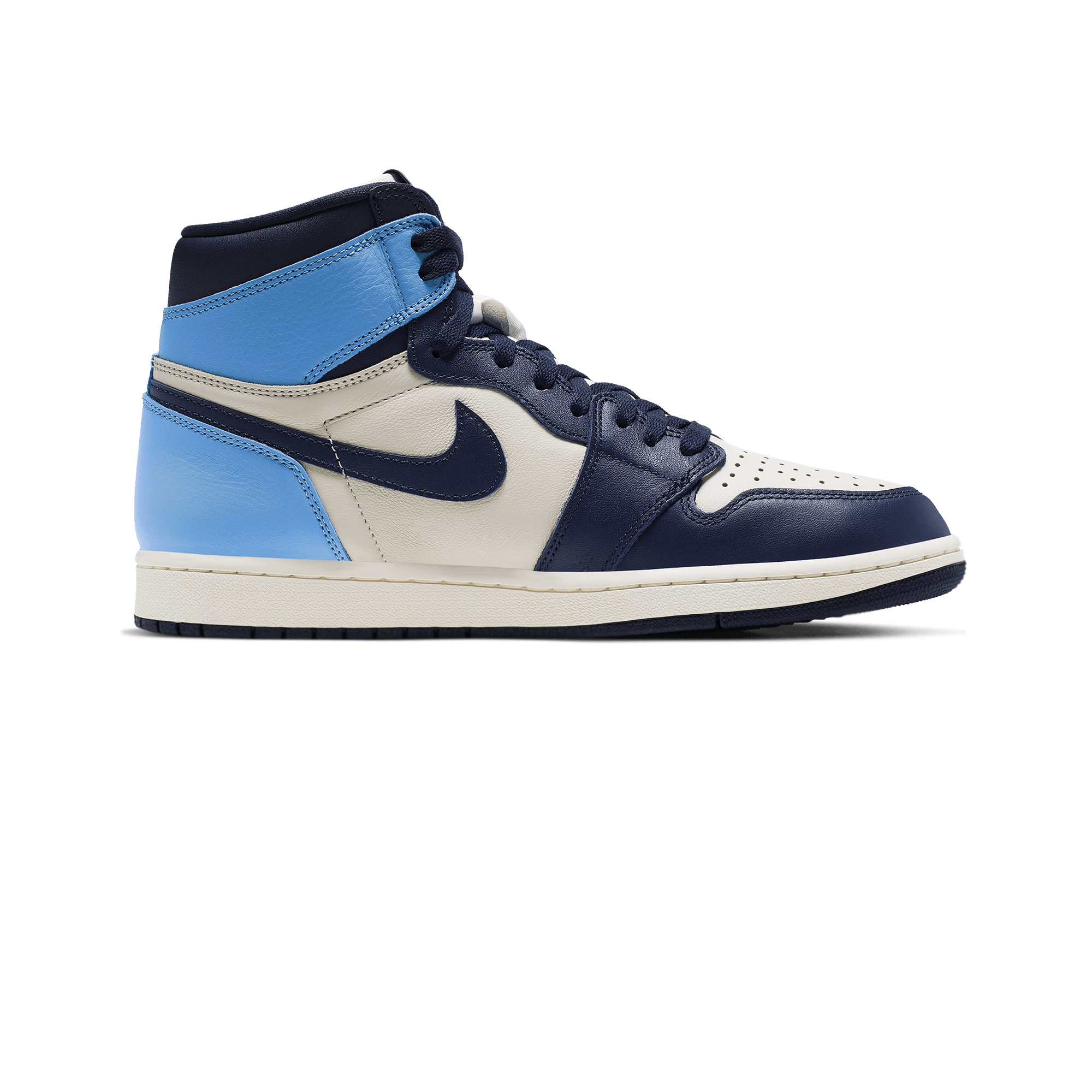 half off f864b aa936 Air Jordan Jordan 1 Retro High OG sail / obsidian / university blue - Uomo  | Holypopstore.com